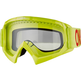 O'Neal B-10 Goggles Kinderen, solid neon yellow/red